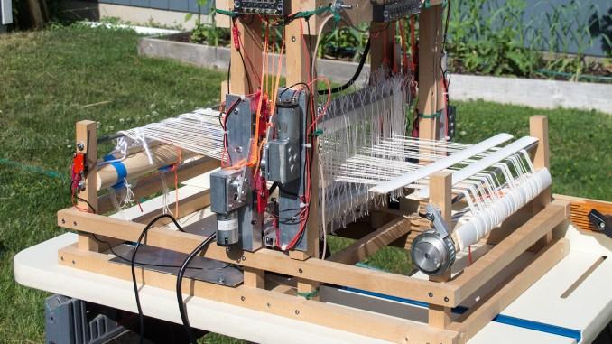 Completed Rasberry Pi Loom