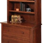 Homestead Lateral File Cabinet With Hutch Amish Homestead