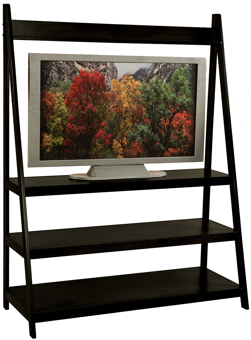 Ladder TV Stand Ladder TV Solid Wood Stand Ladder Entertainment
