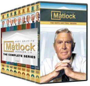 Complete Nine Seasons of Matlock on DVD