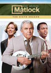 Complete Season 6 of Matlock on DVD
