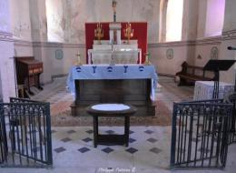 Église de Raveau vue de l'intérieur