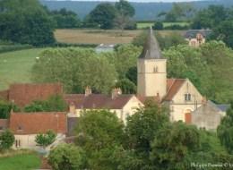 Église du village de Oulon
