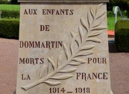 Monument aux Morts Dommartin