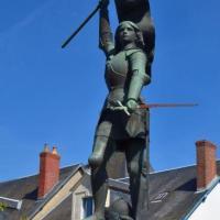 Jeanne d'Arc de Saint Pierre le Moutier - Patrimoine