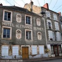 Hôtel de France Bernet - Patrimoine de Saint-Saulge