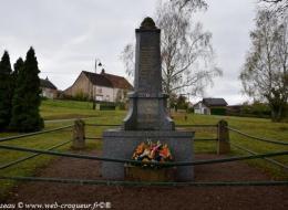 Monument aux Morts de Chaumot
