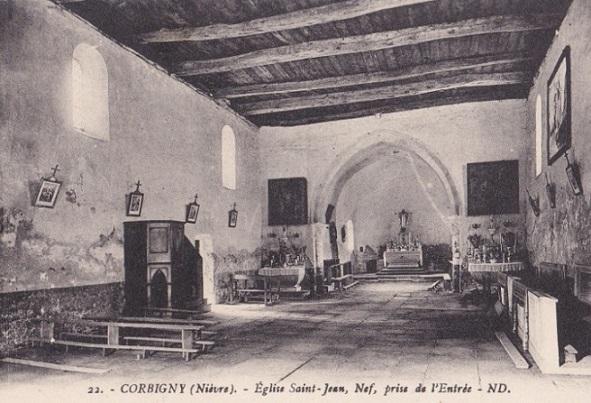 Ancienne église Saint Jean de Corbigny