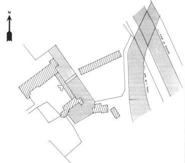 Plan du château de Cuncy
