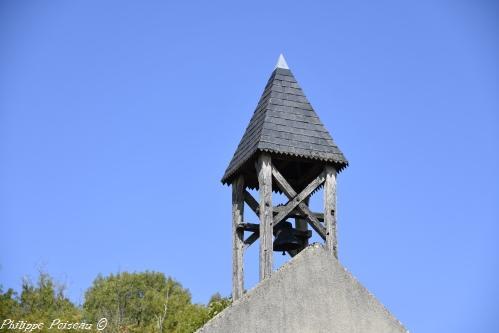 Clocher de l'édifice religieux apelle