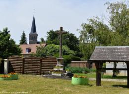 Croix de saint Jean aux Amognes Nièvre Passion