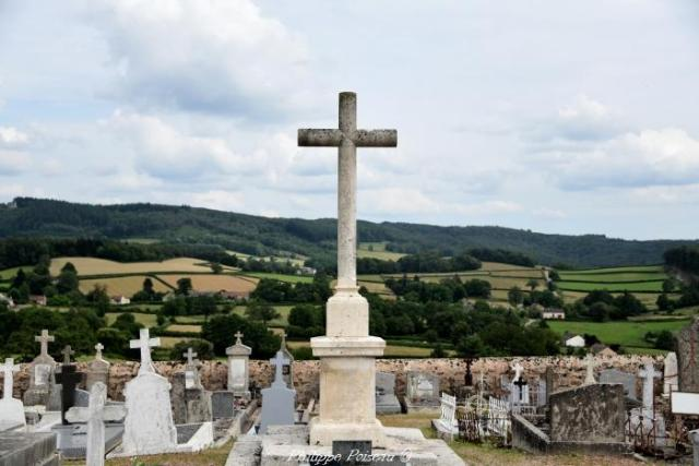 Croix du cimetière de Mhère