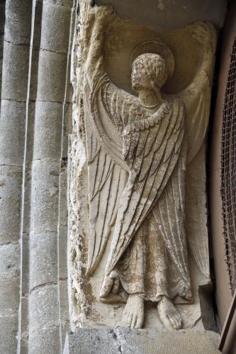 Ange de l'église Nièvre Passion