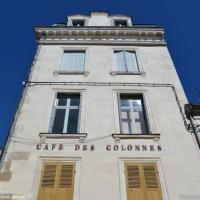 Café des colonnes de Clamecy - Patrimoine de Clamecy