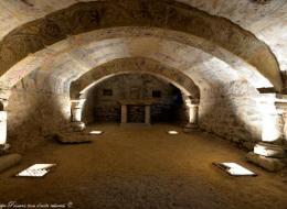 Crypte de l'église d'Alluy