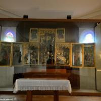 Les triptyques de Ternant dans l'église Saint-Roch