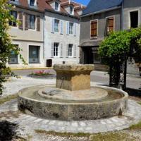 Fontaine de la place Charles Chaigneau de Tannay un patrimoine