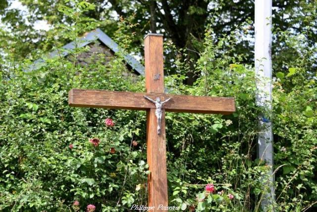 La croix du hameau de Jeaux