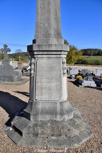 Monument aux morts de Onlay
