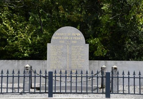 Monument aux morts de Fâchin Nièvre Passion