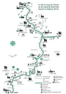 Plan Canal du Nivernais