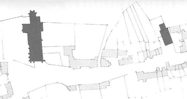 Plan de de Donzy-le-Pré