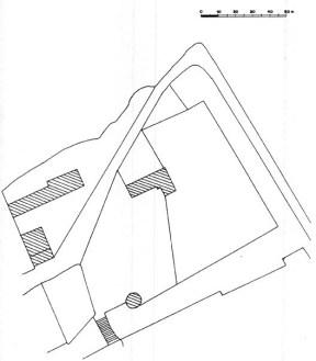 Plan du château d'Arquian