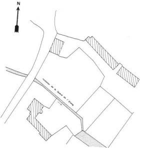 Plan du château de Fourcherenne