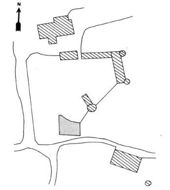 Plan du château de Lichy Nièvre Passion