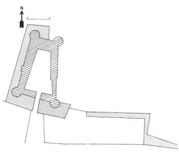 Plan du château de Villars