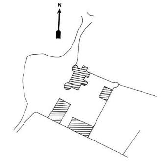 Plan du château du Bouquin