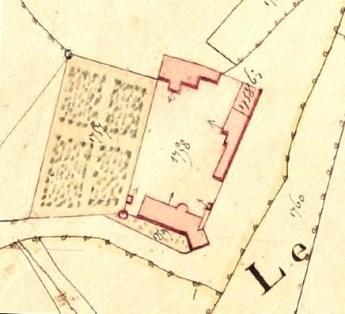 Plan du domaine du Château Le Pontot