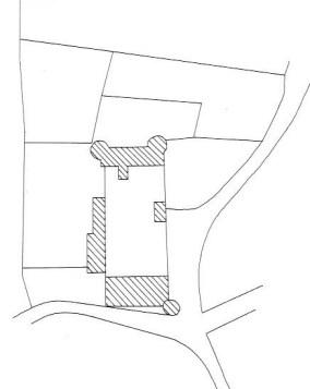Plan du domaine de Prècy