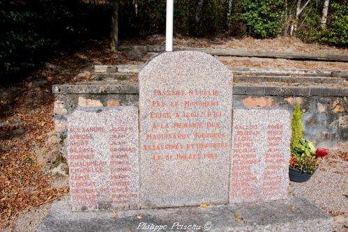 Stèle du Maquis Chaumard
