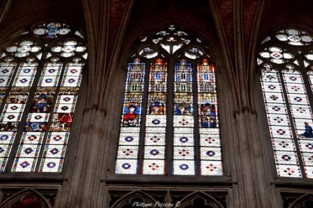 Vitraux de la cathédrale d'Auxerre