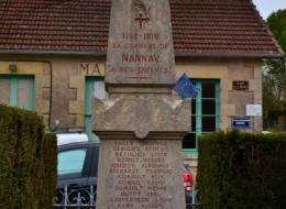 Monument aux morts de Nannay