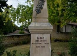 Monument aux Morts Garchy