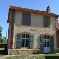 Ancienne gare du tacot à Montigny aux Amognes