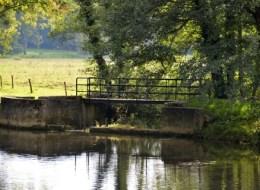 Ponts et passerelle de Guérigny