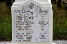 Le monument aux Morts de Guipy