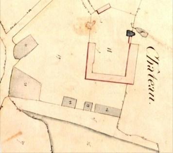 plan du château de Mouasse