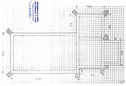 Plan de l'église de Saint-Franchy