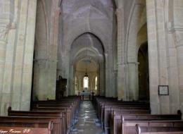 Église de Sémelay vue de l'intérieur