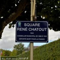 Square de Nevers - Le square René-Chatout