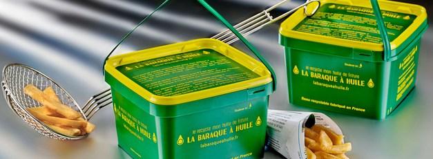 Mieux collecter l'huile de friture avec La Baraque à huile !