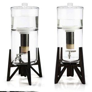 fontaine filtrante en verre