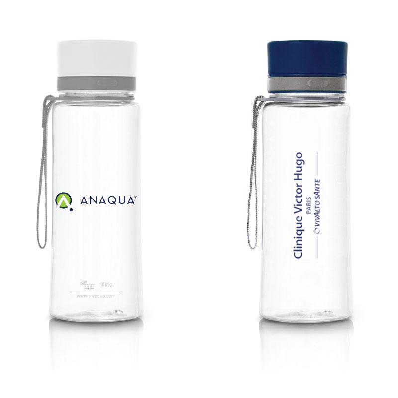 gourde publicitaire design en plastique sans BPA