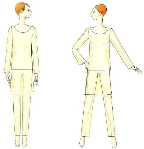 как нарисовать дизайн одежды 6