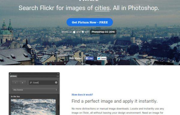 Pictura Des images Flickr directement dans Photoshop