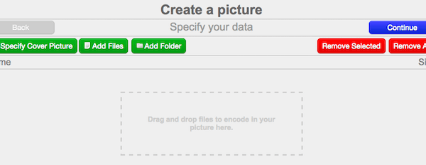 Pixelator : Cacher des fichiers